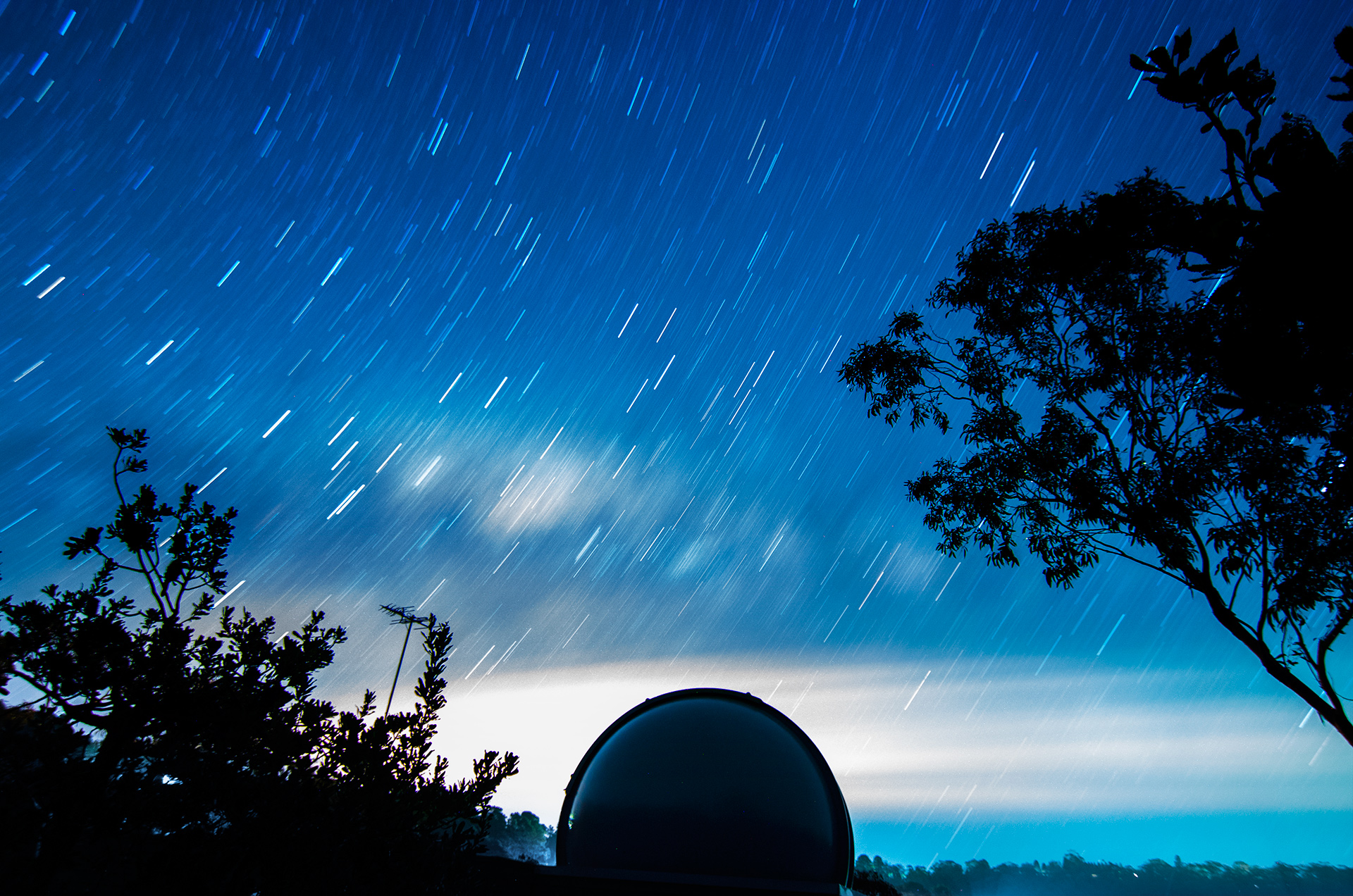 Stars over Blue Mountains Observatory