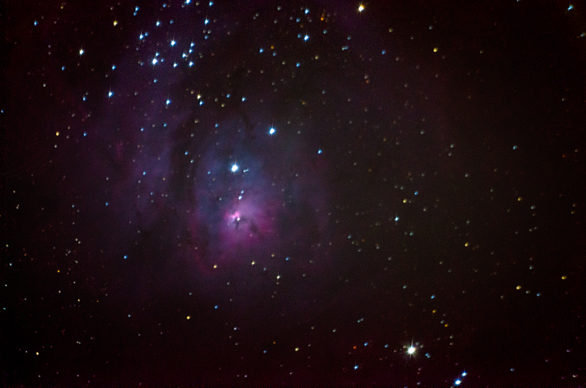 The Lagoon Nebula
