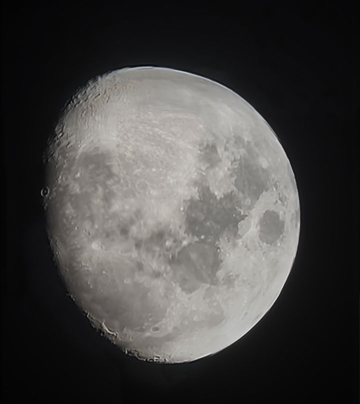 Astroimaging The Moon With A 1970s Childrens Telescope