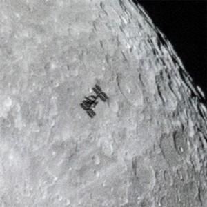 ISS-closeup