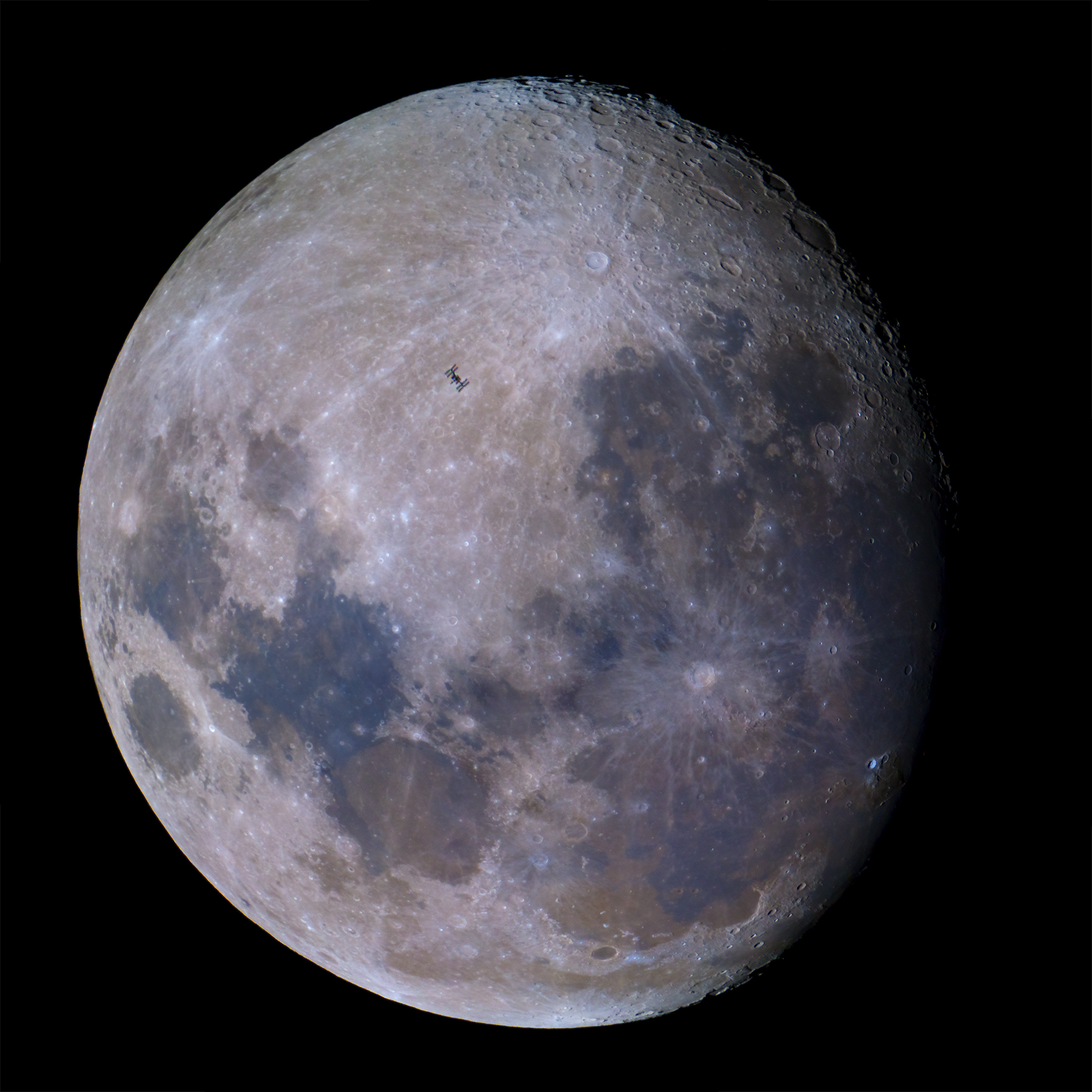 space station lunar transit - photo #15