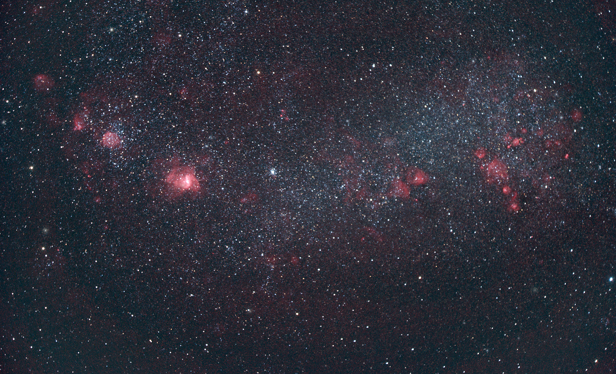 Small Magellanic Cloud In Hargb Deography By Dylan O Donnell