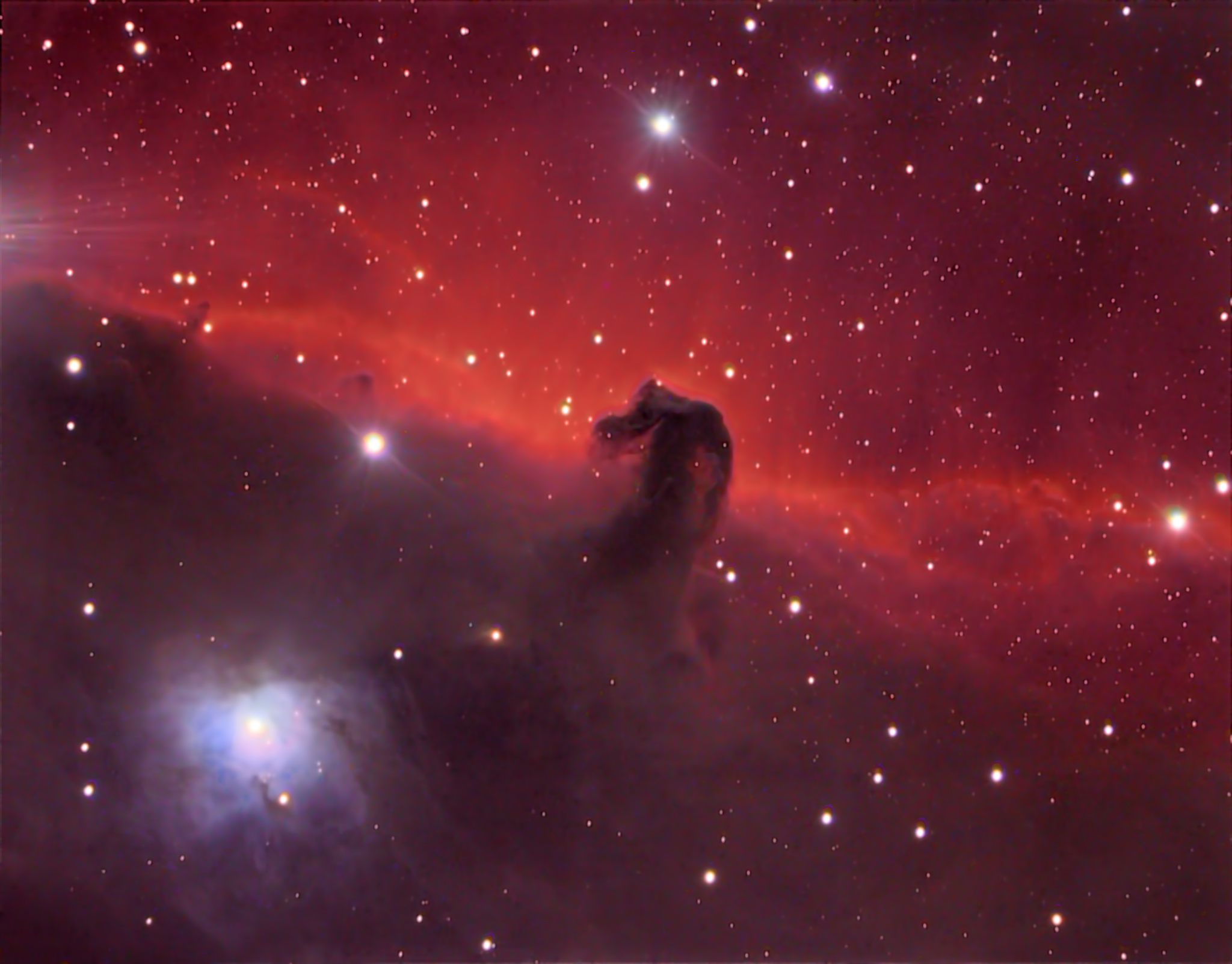 Horsehead Nebula Up Close Deography By Dylan O Donnell